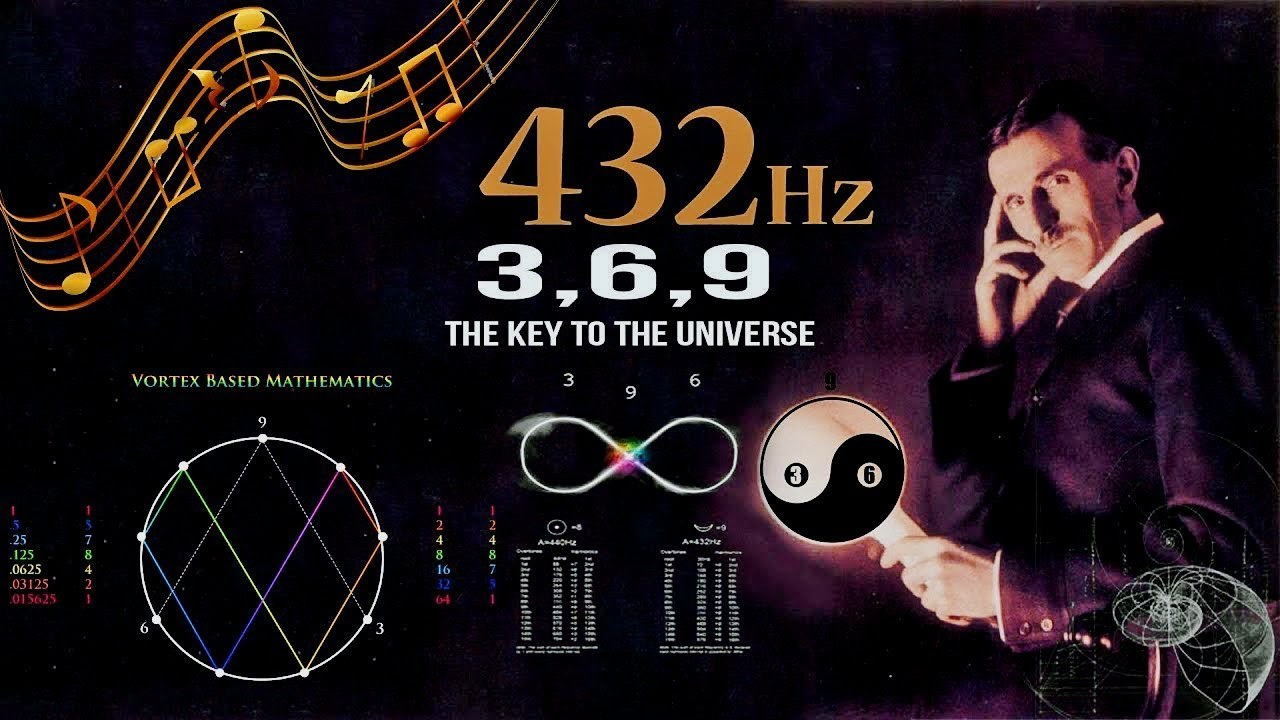 432 Hz \u2013 Unlocking The Magnificence Of The 3 6 9, The Key To Th